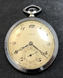 Карманные часы LANCO Swiss made