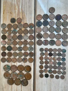 Кошель - 122 монеты Н2