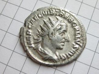 Антониниан,Требониан Галл.