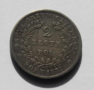 2 злоті 1831