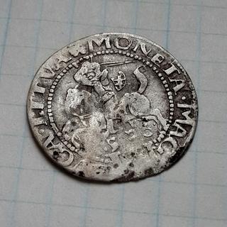 Грош литовский 1536 г., R2 по каталогу Э.Копицкого