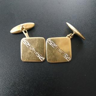 Запонки золотые(золото-750''),Италия. Вес-6,41 гр.