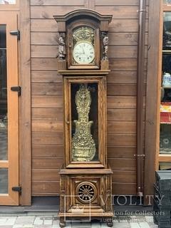 Часы напольные в стиле «Бретон». Винтаж. Франция