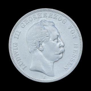 5 Марок 1876 Людвиг ІІІ, Гессен