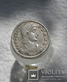 Constans. (337-350 AD). Silver siliqua