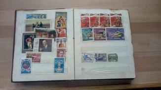 Колекція марок СРСР, Болгарія, Польща, Білорусія,Молдова,Угорщина,Куба 1961-1985 рр.