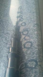 Карбоновое удилище с кольцами  6  м