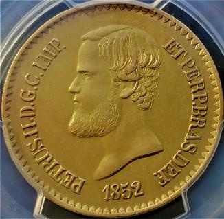 20 000 рейс 1852 року, Бразилія, Педро ІІ, слаб