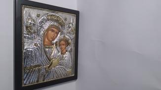 Икона серебро проба 925 (Греция)