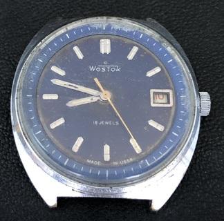 Наручные мужские часы Восток. На ходу