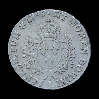1 Экю 1765, Франция
