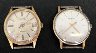 Наручные мужские часы Восток AU 10 и Ракета AU