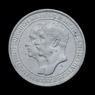 3 Марки 1911 Университет Бреслау / Вроцлава, Пруссия