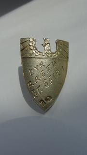 Польский значок в серебре