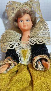 Кукла на резанках.Старая Европа.