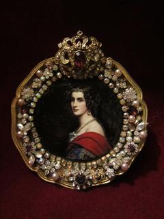 Портретная миниатюра Амалия фон Шинтлинг (1812-1831), Галерея Красавиц Нимфенбург