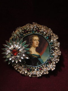 Портретная миниатюра Леди Джейн Элизабет Дигби, 1831 г., Галерея Красавиц Нимфенбург