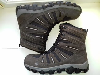 Ботинки Зимние Jack Wolfskin из Натуральной Кожи (Розмір-44.5-29)