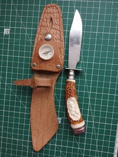 Охотничий нож в чехле ГДР