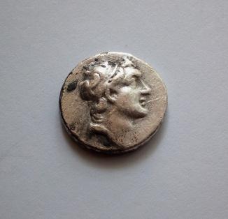 Драхма, Каппадокия, Ариарат V Евсеб Филопатор, 131 - 130 гг.до н.э.