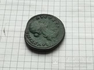 Сестерций. Фаустина Младшая Рим