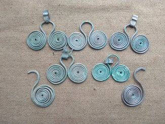 Серебряные подвески ПК (7 шт).