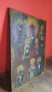 Богородица с предстоящими святыми. 19 век