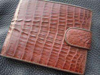 Кошелек/ бумажник/ портмоне кожа крокодила