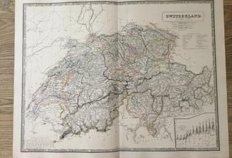 1853 Швейцария. Большая. Оригинал.