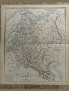 1893 Рос.Империя. Украина. Крым. Львов. 62*49 см.