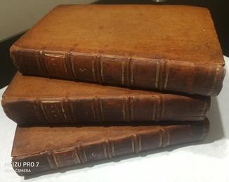 1776 Британский театр. 3 книги. 20 гравюр.