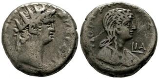 Нерон и Поппея Сабина, Египет, Александрий