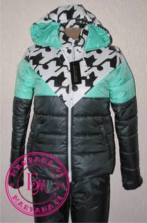 Утеплённый зимний костюм ИЗУМРУД размер L (48)