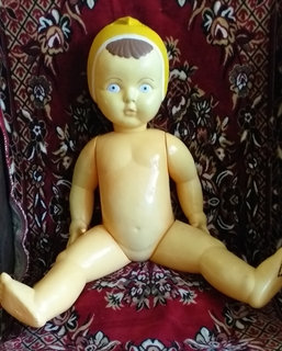 Кукла пупс ссср 62 см целлулоид