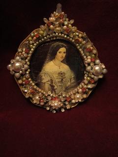 Портрет Адельгейда Австрийская - Королева Сардинии (1822-1855)