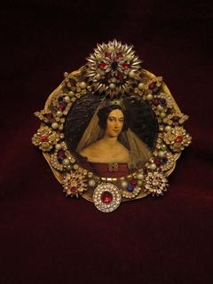 Портрет Мария Анна Савойская - императрица Австрии, королева Венгрии и Чехии (1803-1884)