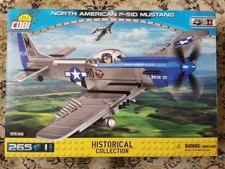 Конструктор Cobi самолет P-51D Mustang (Made in Poland) аналог LEGO