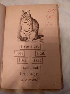 1937 Букварь для Американской школы всего 1000 тираж