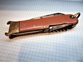 Охотничий складной нож, завод Заря, Давыдково. Ранний