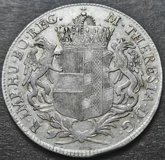 Талер конвенционный. Австрия. Бургау. Мария Терезия 1766