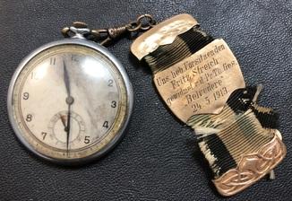 Карманные часы с брелком 1913 года