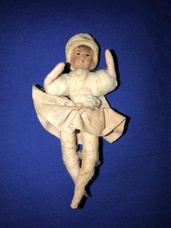 Ватная игрушка папье-маше 1930-1940 годов