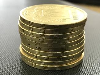 1 гривня 1996 рік_ 10 монет
