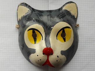 Маска кот