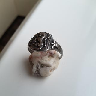 Старинный серебряный перстень