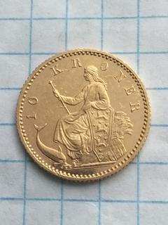 10 крон 1900 Дания с1л6