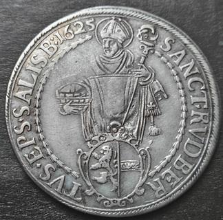 Талер, Зальцбург, 1625 г. архиепископ Парис фон Лондрон.