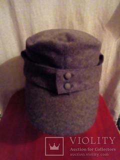 Немецкая кепка М43 3 Рейх Вермахт ( Реплика)