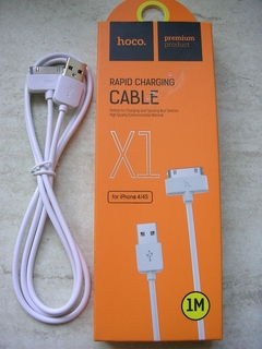 Кабель USB Hoco X1 Rapid Charging Cable Dock iPhone 4 Cable White