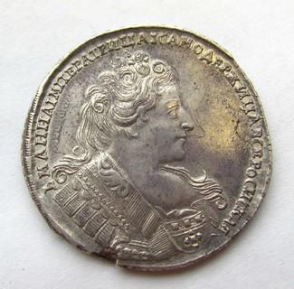 Рубль 1732 р.